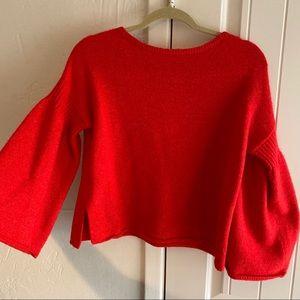 Lou & Grey Bell Sleeve Sweater